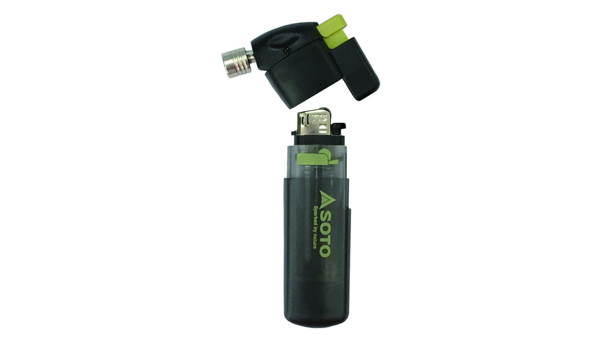 Soto - Pocket Torch Refillable Lighter - Feuer Survival