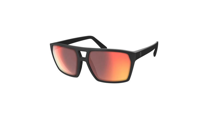 SCOTT - Tune Black Glossy Red Chrome Amplifier - Sonnenbrillen