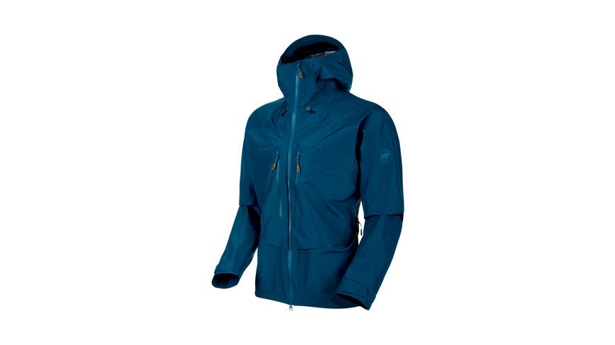 Mammut - Teton HS Hooded Jacket Men - Hardshell Regenjacken