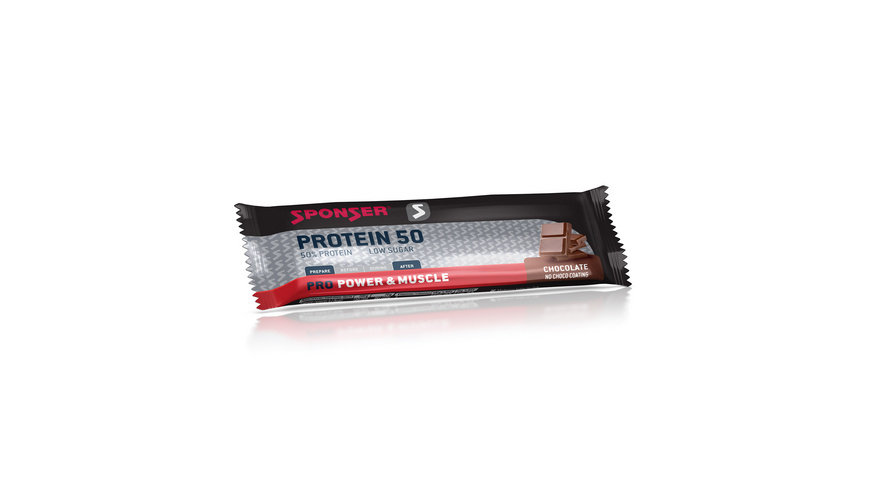 Sponser - Protein 50 Bar - Outdoor Nahrung