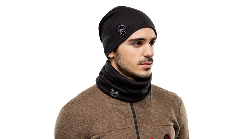 Buff - Heavyweight Merino Wool Hat - Kappen Muetzen