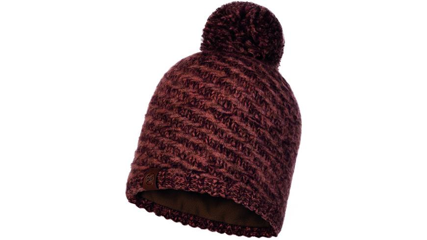 Buff - Agna Knitted Polar Fleece Hat - Kappen Muetzen