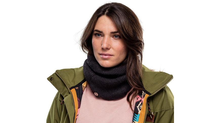 Buff - Disa Knitted Polar Fleece Neckwarmer - Damen