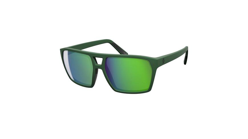 SCOTT - Tune Dark Green Red Chrome Amplifier - Sonnenbrillen
