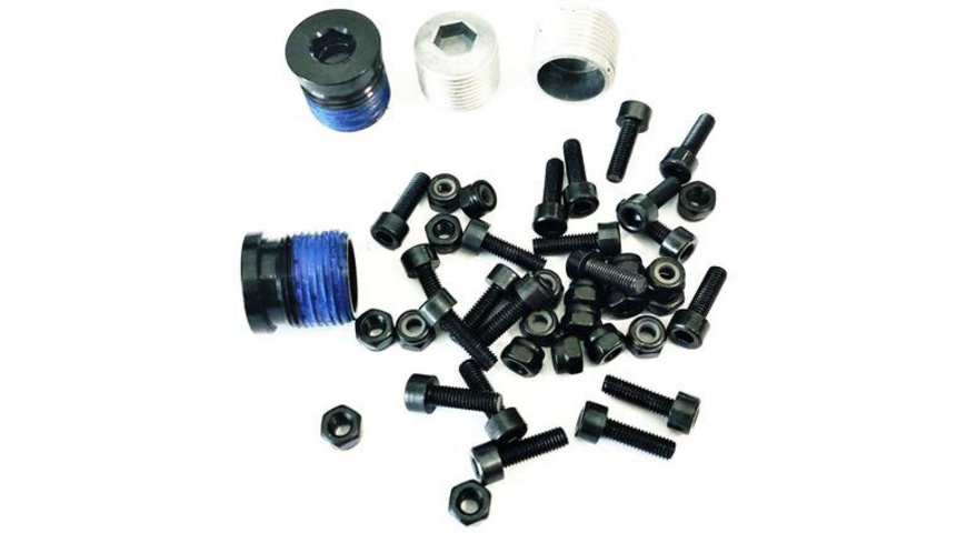 OneUp - Composite Pedal Pin and Cap Kit - Pedalen