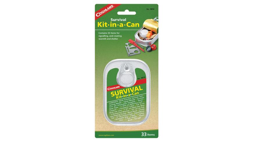 Coghlans - Survival Kit Dose - Feuer Survival