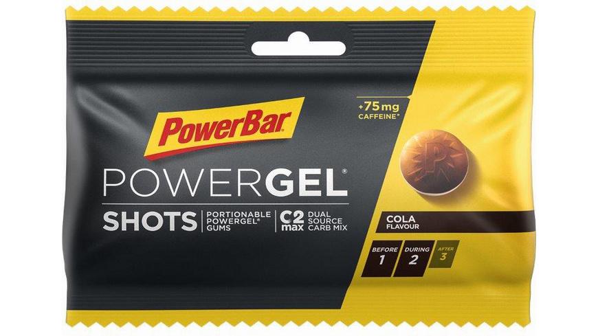 Power Bar - Power Gel Shots - Outdoor Nahrung