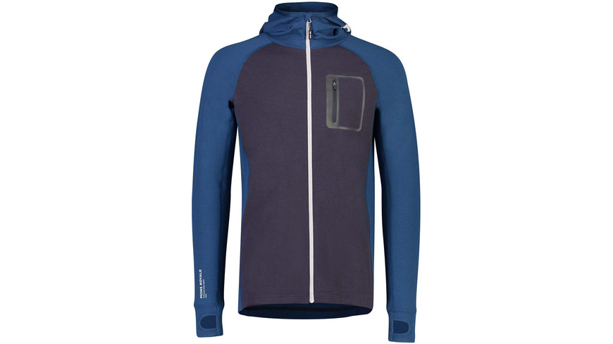 Mons Royale - Traverse Midi Full Zip Hood - Isolierte Jacken