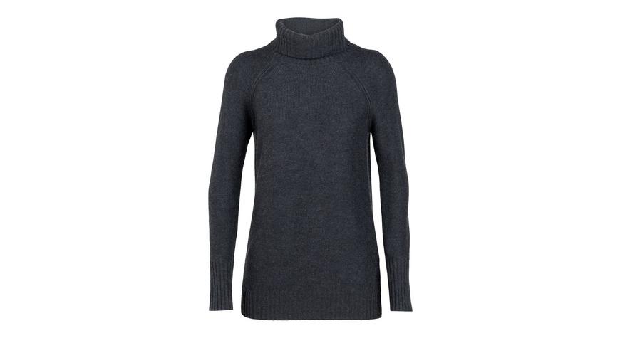 Icebreaker - Wmns Waypoint Roll Neck Sweater - Oberteile