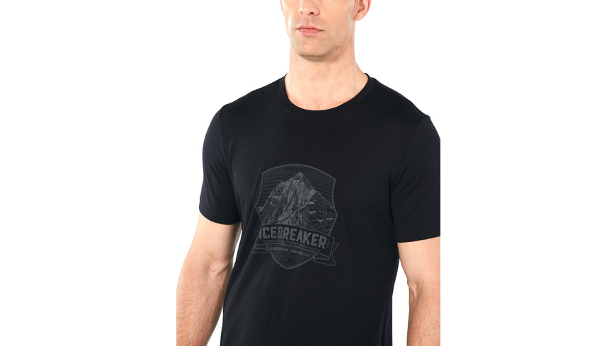 Icebreaker - Mens Tech Lite SS Crewe Everest Crest - TShirts