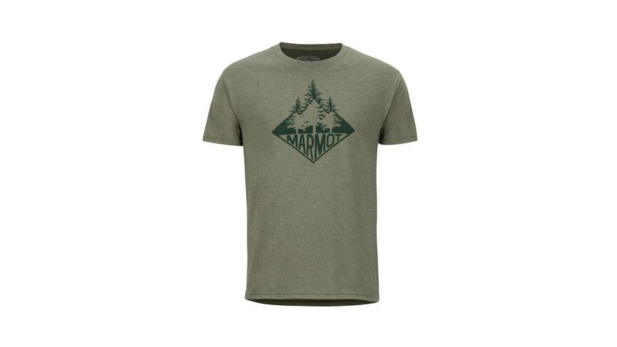 Marmot - Rising Forest Tee SS - TShirts
