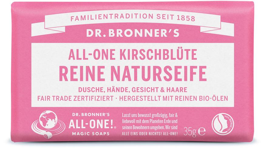 Dr Bronners Magic - Stueckseife klein - Seifen Hygieneartikel