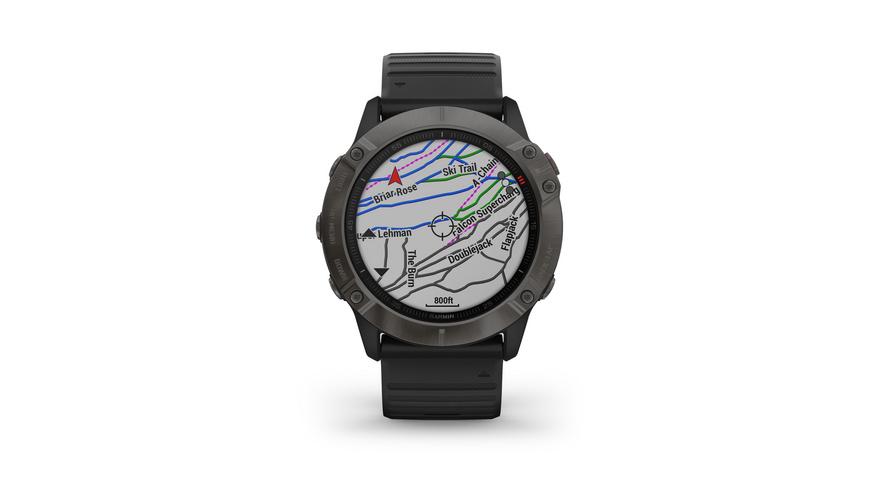 Garmin - Fenix 6X Pro Sapphire - Sportuhren