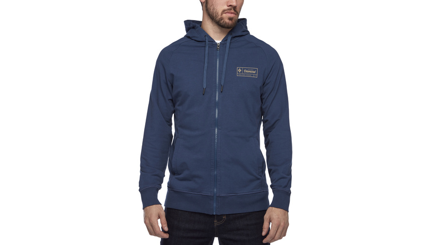 Black Diamond - Heritage Logo Full Zip Hoody - Hardshell Regenjacken