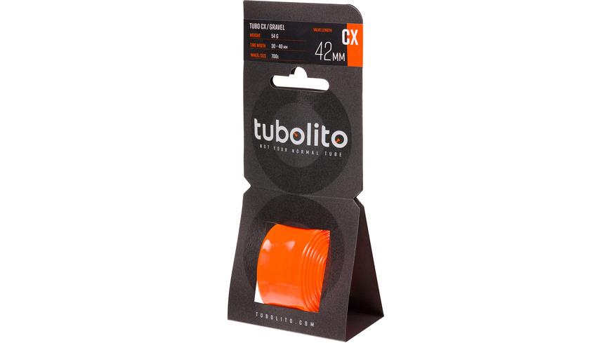 Tubolito - Tubo CXGravel 700C 3040 mm Presta 42mm - Veloschlaeuche