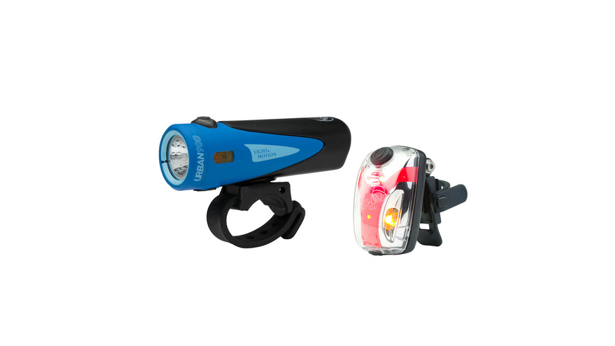 Light Motion - Combo Urban 900 Vis Micro II - Velolicht