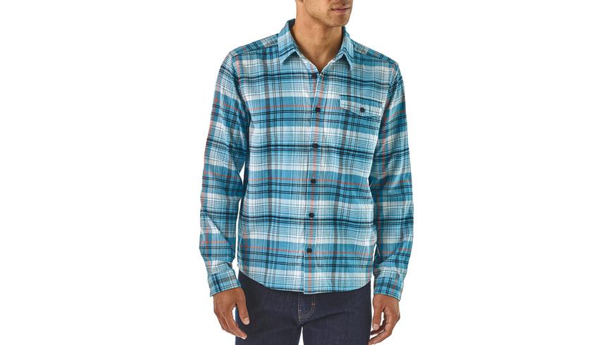 Patagonia - Ms LongSleeved Lightweight Fjord Flannel Shirt - Hemden