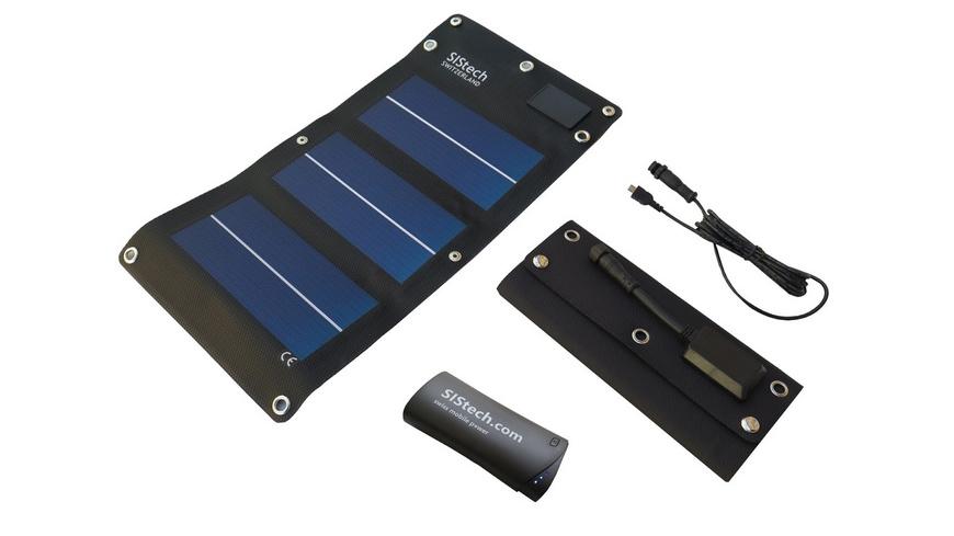 SIStech - Set Solarflex 5W SP 5200 - Ladegeraete
