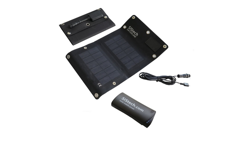 SIStech - Set Ecosolar 4W SP 5200 - Ladegeraete