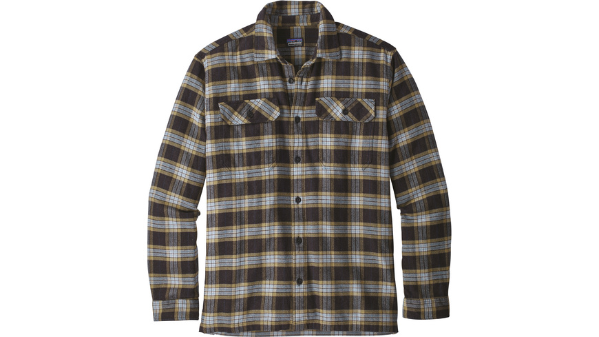 Patagonia - MS LongSleeved Fjord Flannel Shirt - Hemden