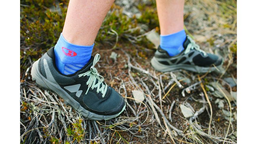 Icebreaker - Wmns Run Ultralight Mini - Socken