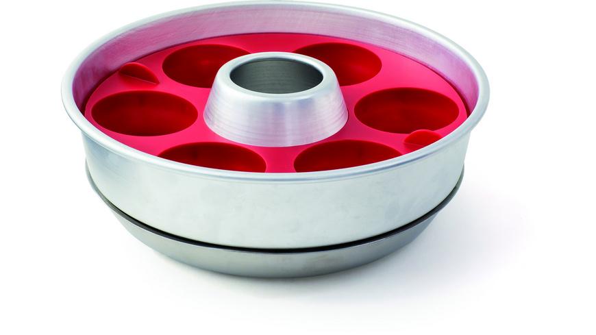 Omnia - Silikon Muffinform - Pfannen Toepfe