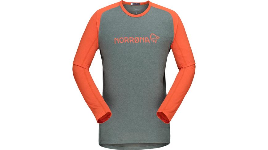 Norrona - Fjora Equaliser Lightweight Long Sleeve M - Velotrikot