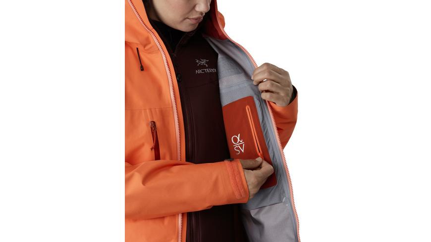 Arcteryx - Alpha SV Jacket Womens - Hardshell Regenjacken