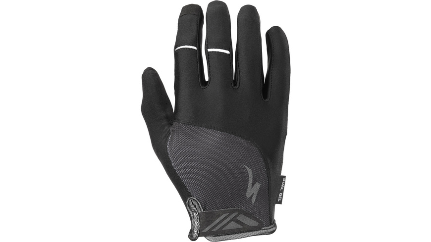 Specialized - Mens Body Geometry DualGel Long Finger - Velohandschuhe